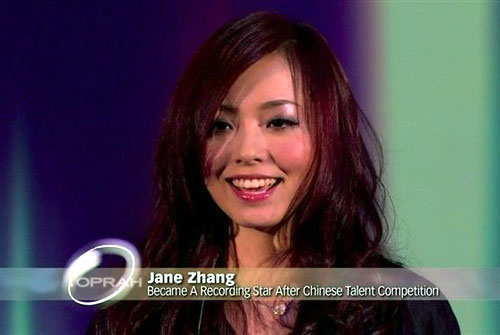 Jane Zhang on Oprah