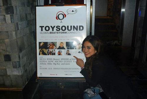 アシーナ「Toy Sound」にてデビューライブ
